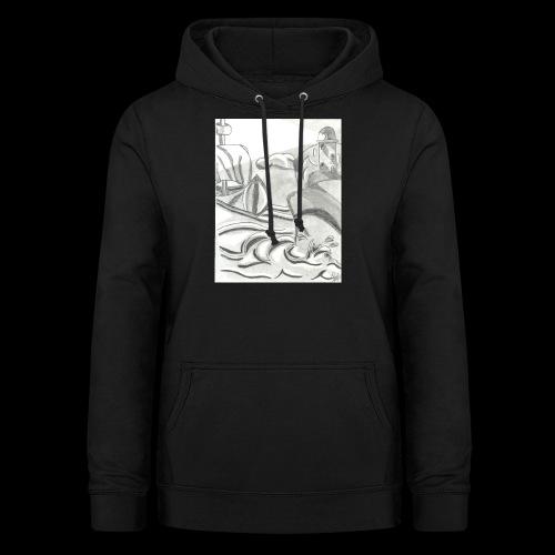 abstrack - Sudadera con capucha para mujer