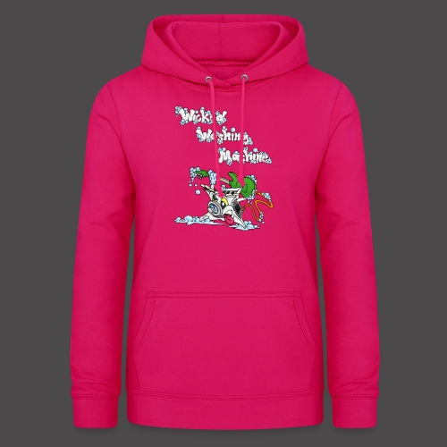 Wicked Washing Machine Cartoon and Logo - Vrouwen hoodie