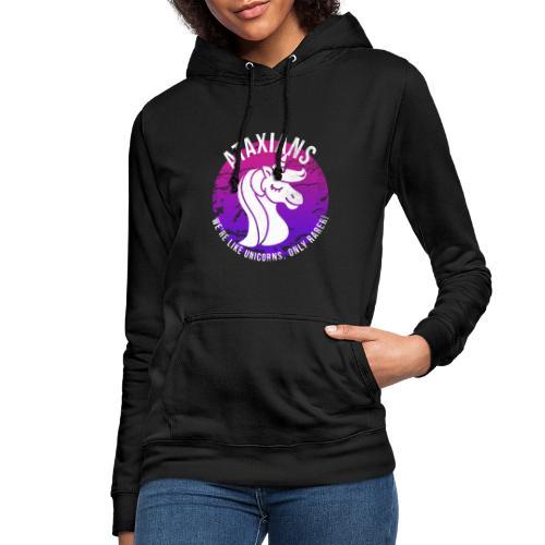 Ataxianos - ¡Somos como unicornios, solo que más raros! - Sudadera con capucha para mujer