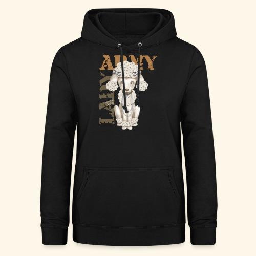 Army Dog - Sudadera con capucha para mujer
