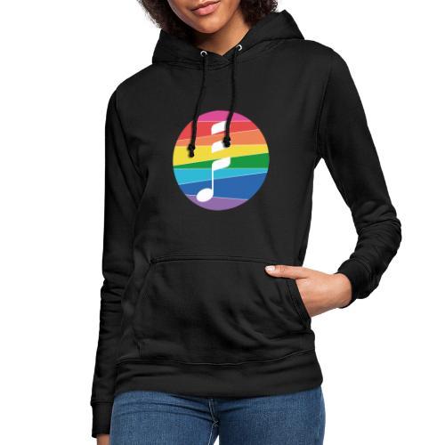 Rainbow Note - Frauen Hoodie