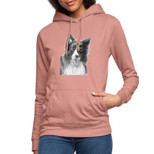 border collie 3 - Dame hoodie