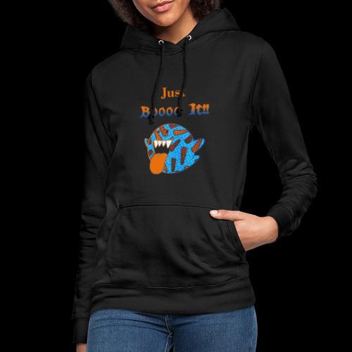 Just Boooo It : Orange Power !!! - Sweat à capuche Femme