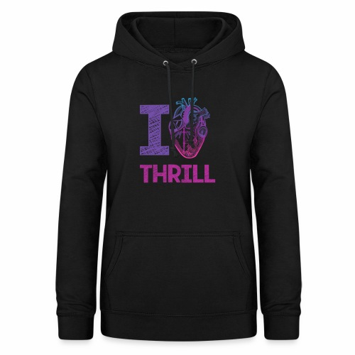 I love Thrill Logo - ParkTube - Frauen Hoodie