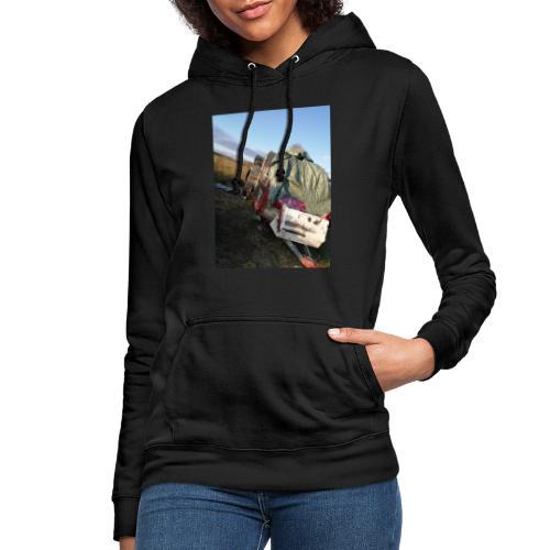 Kläder med vagnen på - Luvtröja dam
