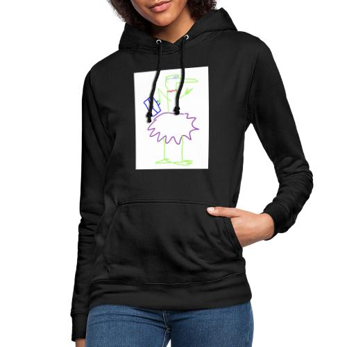 Lady with suitcase - Frauen Hoodie