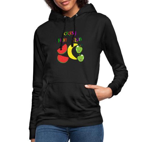 Crazy fruit club - Frauen Hoodie