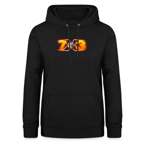 FranX73 logo NEW - Sudadera con capucha para mujer