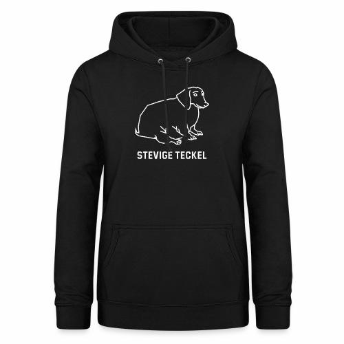 Stevige Teckel - Vrouwen hoodie