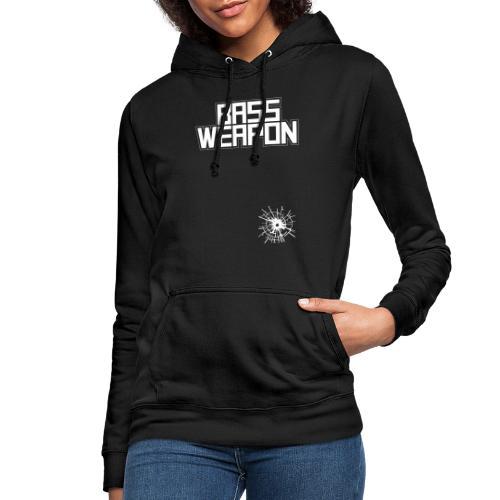 logo oben schuss untne - Frauen Hoodie
