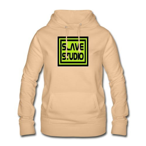 Slave Studio logo - Felpa con cappuccio da donna