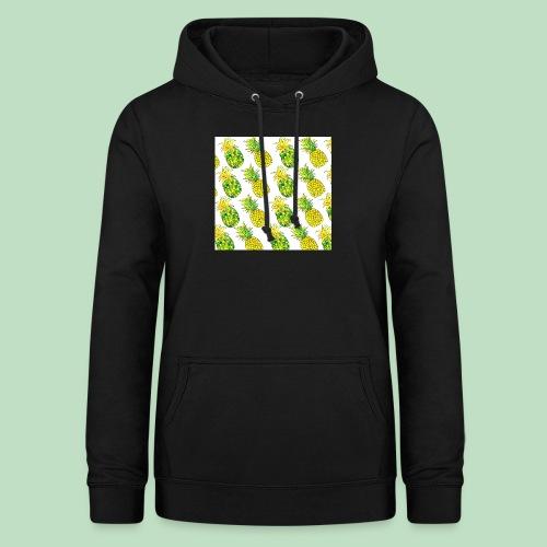 Pineapple Fantasy - Felpa con cappuccio da donna