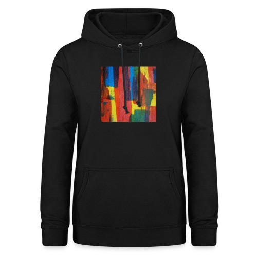 Abstract Primary - Women's Hoodie