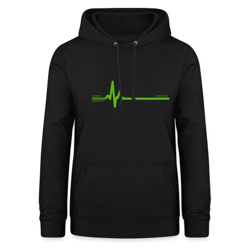 Querbeet EKG - Frauen Hoodie