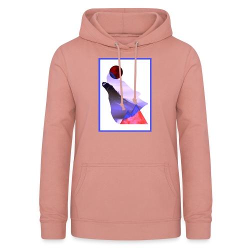 Måne Ulv - Laurids B Design - Dame hoodie