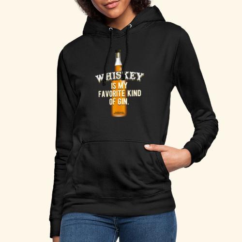Whiskey Sprüche Für Clevere Leute - Frauen Hoodie