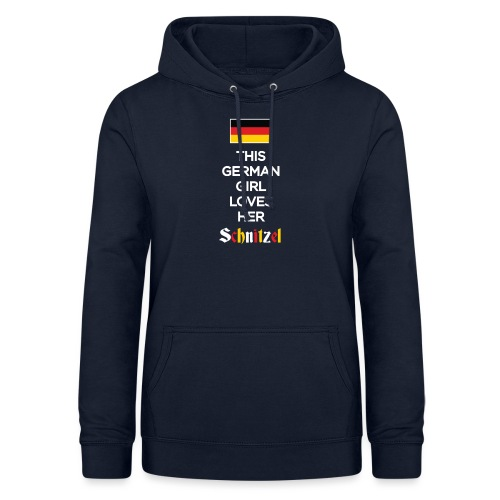 Girl loves her Schnitzel - Frauen Hoodie