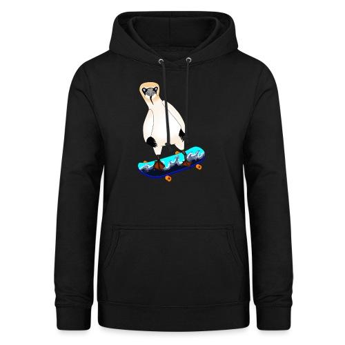 Skateboarding gannet - Women's Hoodie