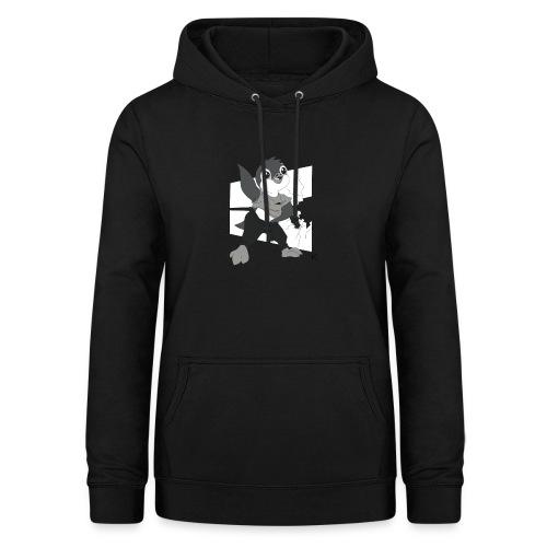 Le pingouin de Nice - Sweat à capuche Femme