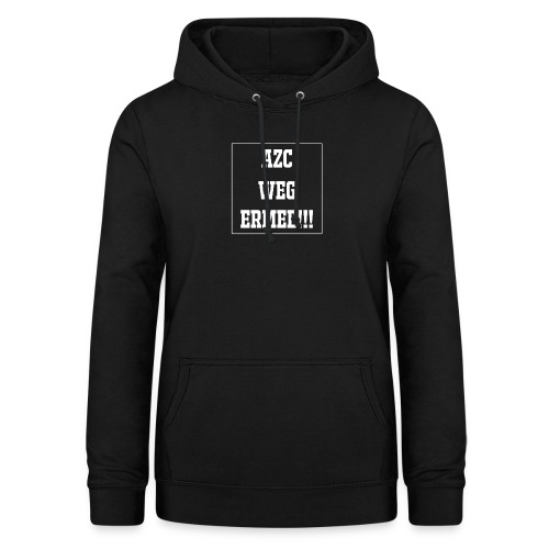 Protest t-shirt tegen de vluchtelingen. - Vrouwen hoodie