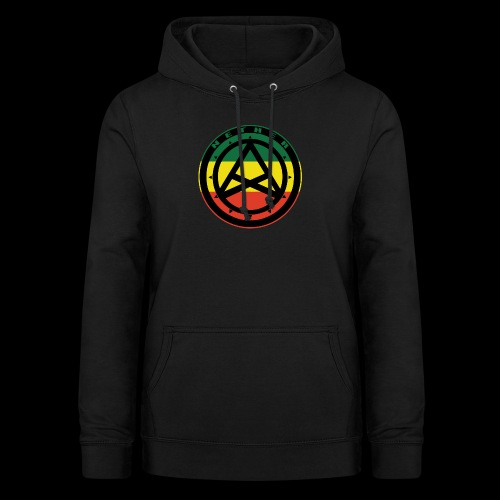 Nether Crew Black\Green\Yellow\Red Hoodie - Felpa con cappuccio da donna