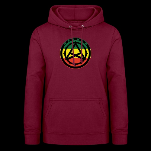 Nether Crew Black\Green\Yellow\Red Hoodie - Felpa con cappuccio da donna