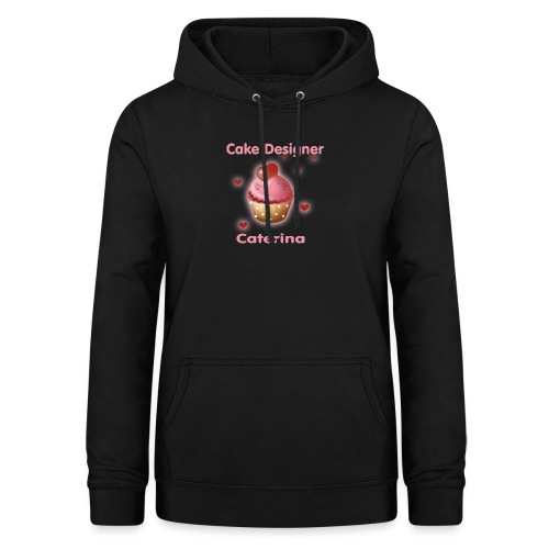 cupcakke - Felpa con cappuccio da donna