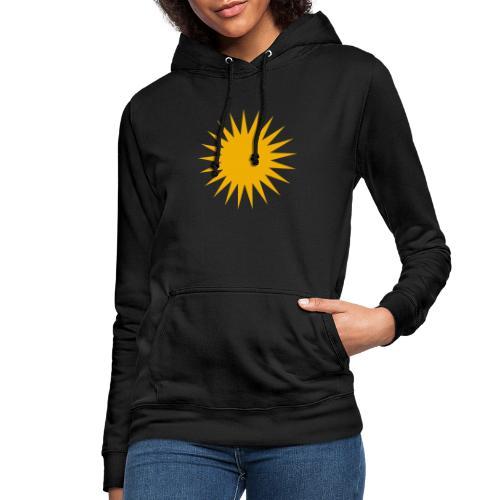 Kurdische Sonne Symbol - Frauen Hoodie