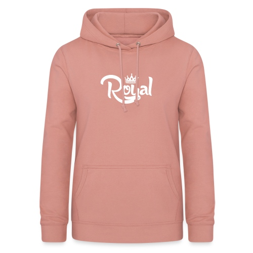 Royal Logo White Edition - Women's Hoodie