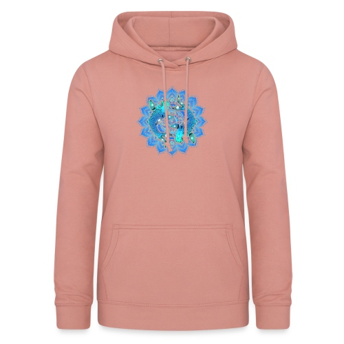 Asian Pond Carp - Koi Fish Mandala 1 - Frauen Hoodie