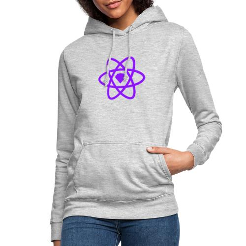 Sketch2React Dark Purple Logo - Women's Hoodie