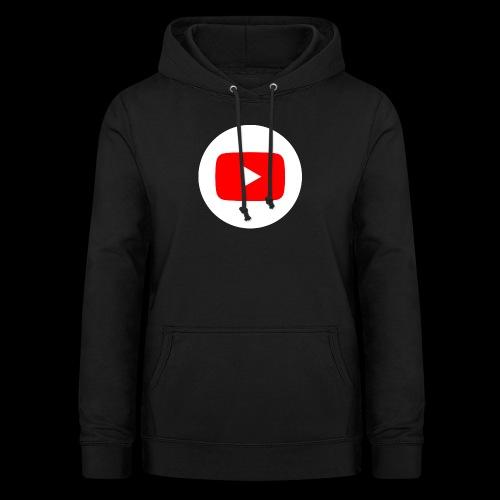 1024px YouTube social white circle 282017 29 svg - Frauen Hoodie