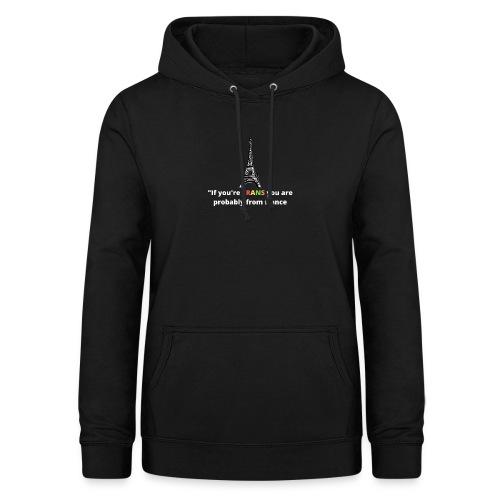 Slogan - White Heading - Dame hoodie