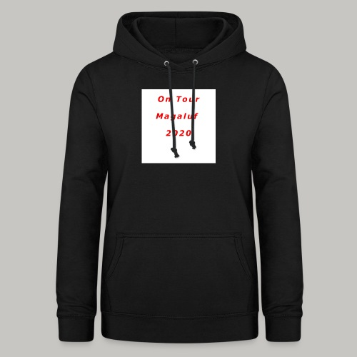 On Tour In Magaluf, 2020 - Printed T Shirt - Women's Hoodie
