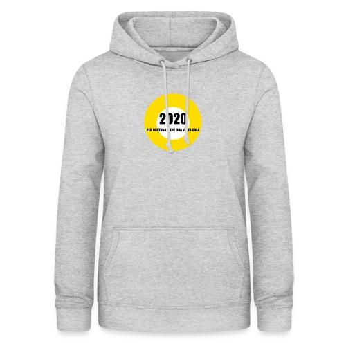 2020 - Felpa con cappuccio da donna