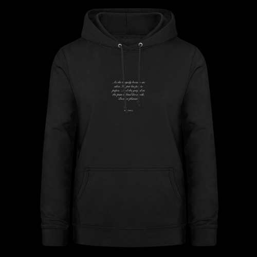 His Words - Women's Hoodie