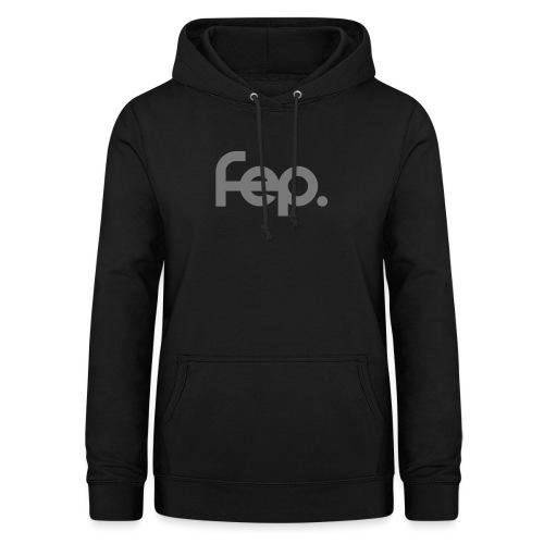 FEP logo gray - Women's Hoodie