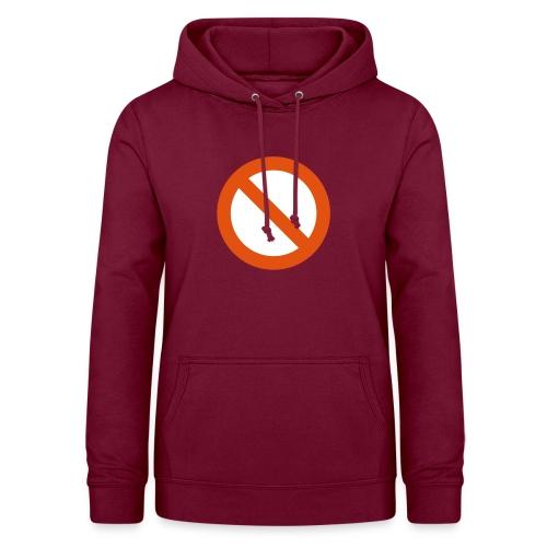 verboden - Vrouwen hoodie
