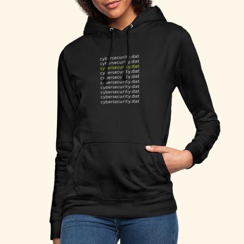 Cyber Security Data Machine Learning - Felpa con cappuccio da donna