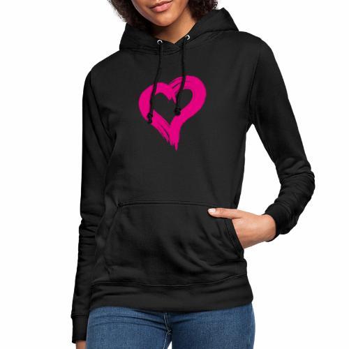 Pink Heart - Women's Hoodie