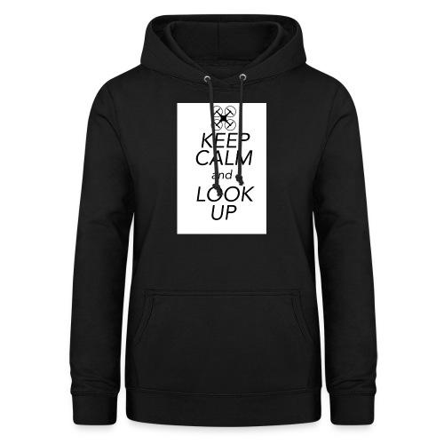 Keep Calm and Look Up - Vrouwen hoodie