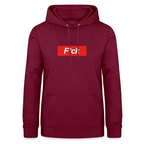 F*cking Shirt - Vrouwen hoodie