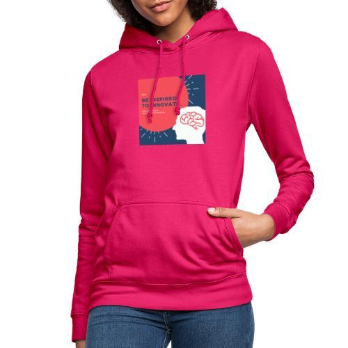Inteligencia - Sudadera con capucha para mujer