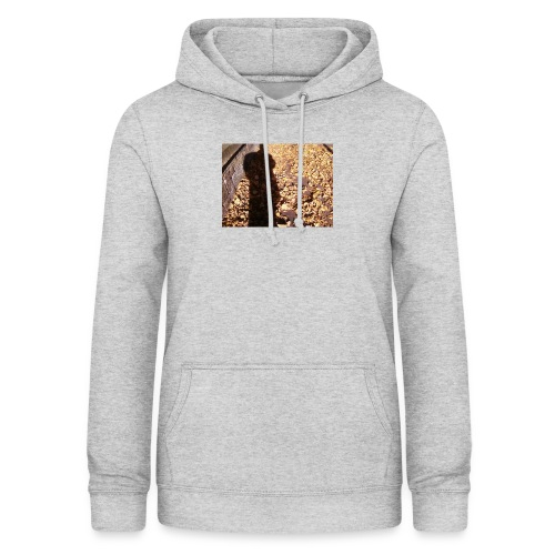 THE GREEN MAN IS MADE OF AUTUMN LEAVES - Women's Hoodie