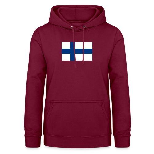 800pxflag of finlandsvg - Naisten huppari