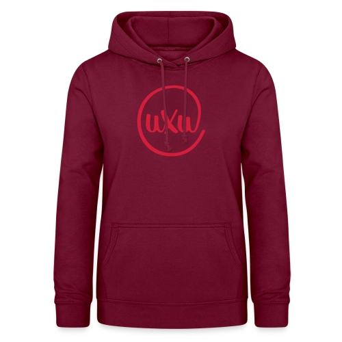 UXU logo round - Women's Hoodie