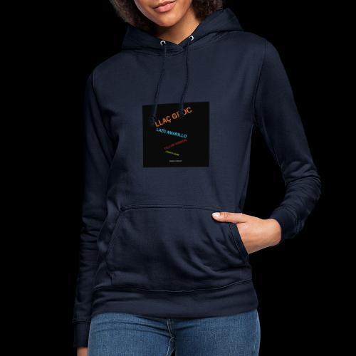 Llac Groc Suggestiu - Sudadera con capucha para mujer