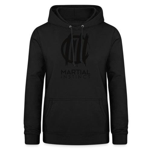 MARTIAL INSTINCT - Black Logo (vorne) - Frauen Hoodie