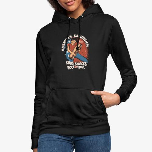 American Sandwich Rocker hell - Frauen Hoodie