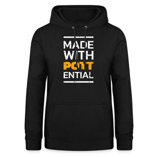 Made-with-Pottential Hochformat - Frauen Hoodie
